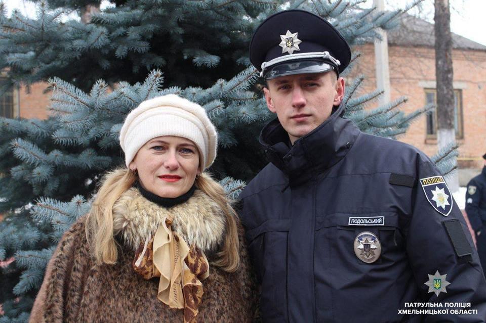 Патрульну поліцію Хмельниччини поповнили 20 новобранців, фото-8