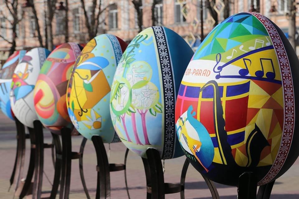 Красивий Великдень: У Хмельницькому засвітили 3-метрову писанку. ФОТО.ВІДЕО, фото-3