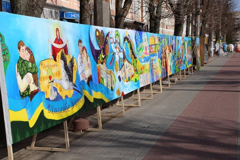 Красивий Великдень: У Хмельницькому засвітили 3-метрову писанку. ФОТО.ВІДЕО, фото-5