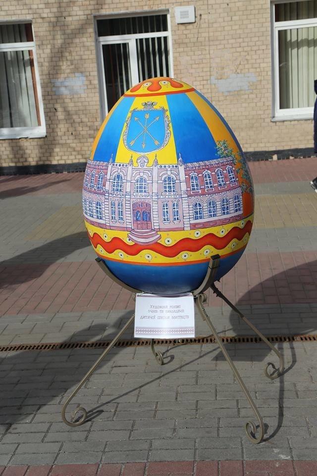 Красивий Великдень: У Хмельницькому засвітили 3-метрову писанку. ФОТО.ВІДЕО, фото-13