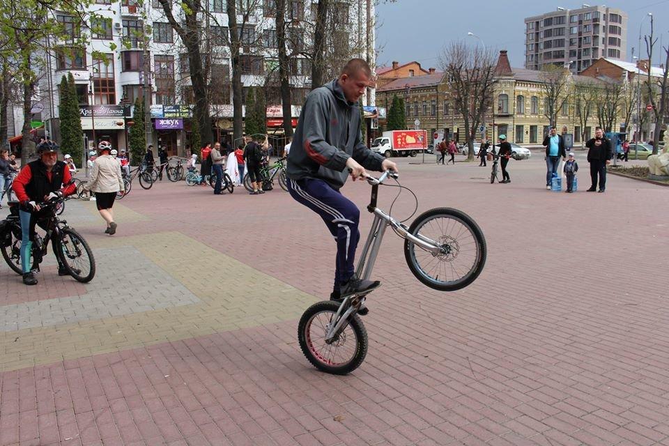 У Хмельницькому відкрили велосезон 2018. ФОТО.ВІДЕО, фото-16