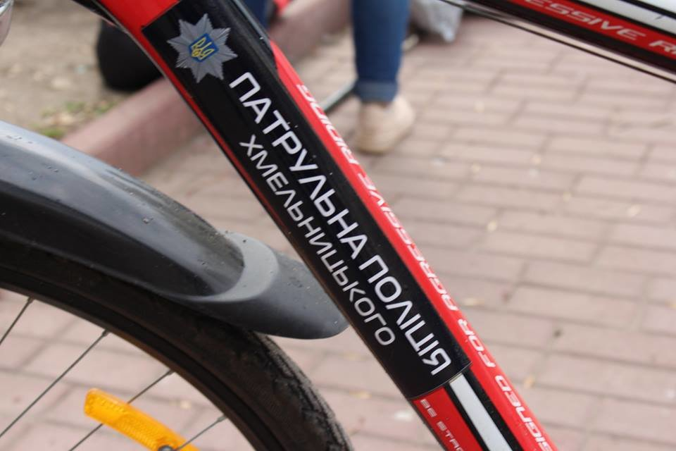 В місті Хмельницькому розпочав роботу поліцейський велопатруль , фото-1