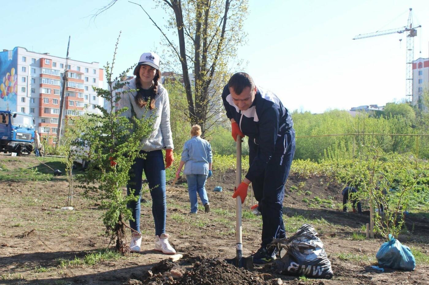 У Хмельницькому в День довкілля висаджено сто п'ятдесят дерев, фото-2