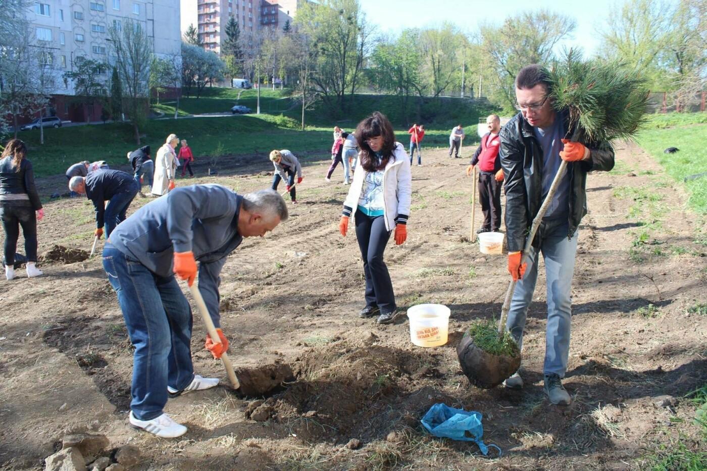 У Хмельницькому в День довкілля висаджено сто п'ятдесят дерев, фото-4