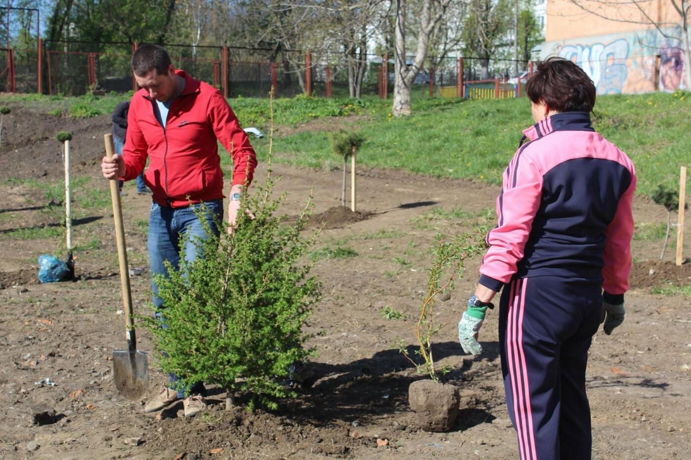 У Хмельницькому в День довкілля висаджено сто п'ятдесят дерев, фото-1