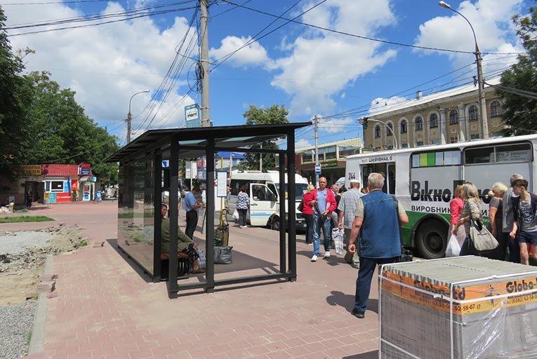 У Хмельницькому оновлюють площу перед залізничним вокзалом, фото-2