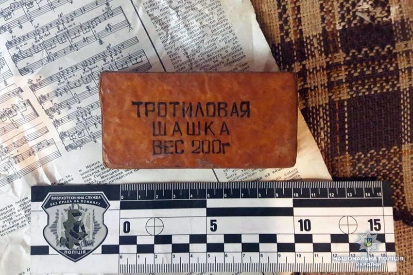 На Хмельниччині у чоловіка виявили наркотики, набої та тротилові шашки, фото-1