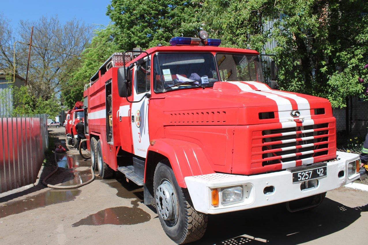 Хмельницький: рятувальники ліквідували пожежу на швейному підприємстві (ВІДЕО), фото-3