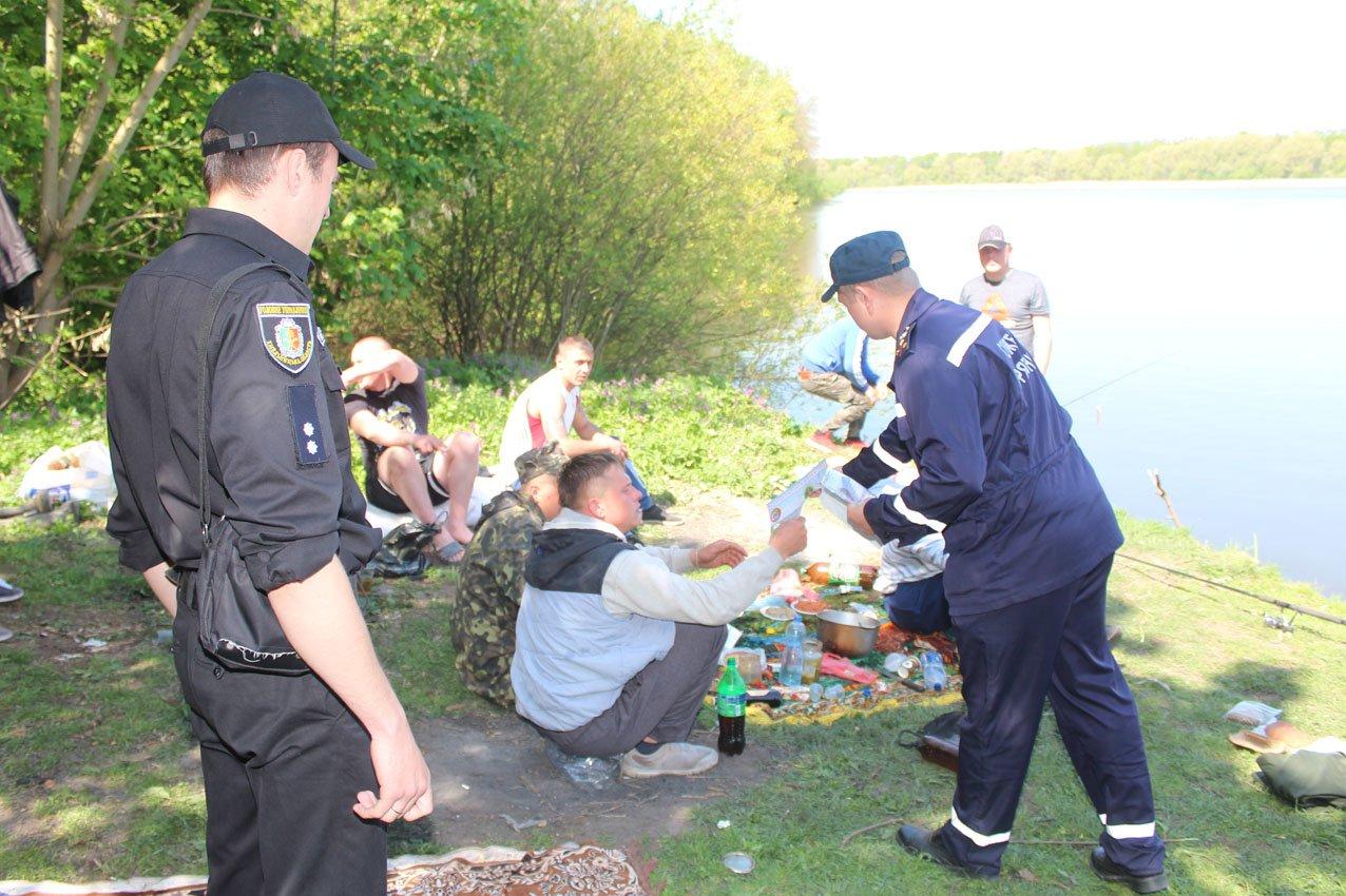Не порушуй: Вогнеборці Хмельниччини разом із правоохоронцями активно патрулюють місця відпочинку громадян, фото-4