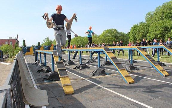 У Хмельницькій області відбувся чемпіонат з пожежно прикладного спорту. ФОТО, фото-1