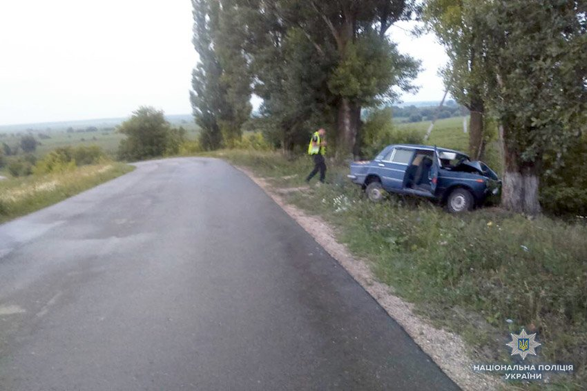 Фото з місця аварії