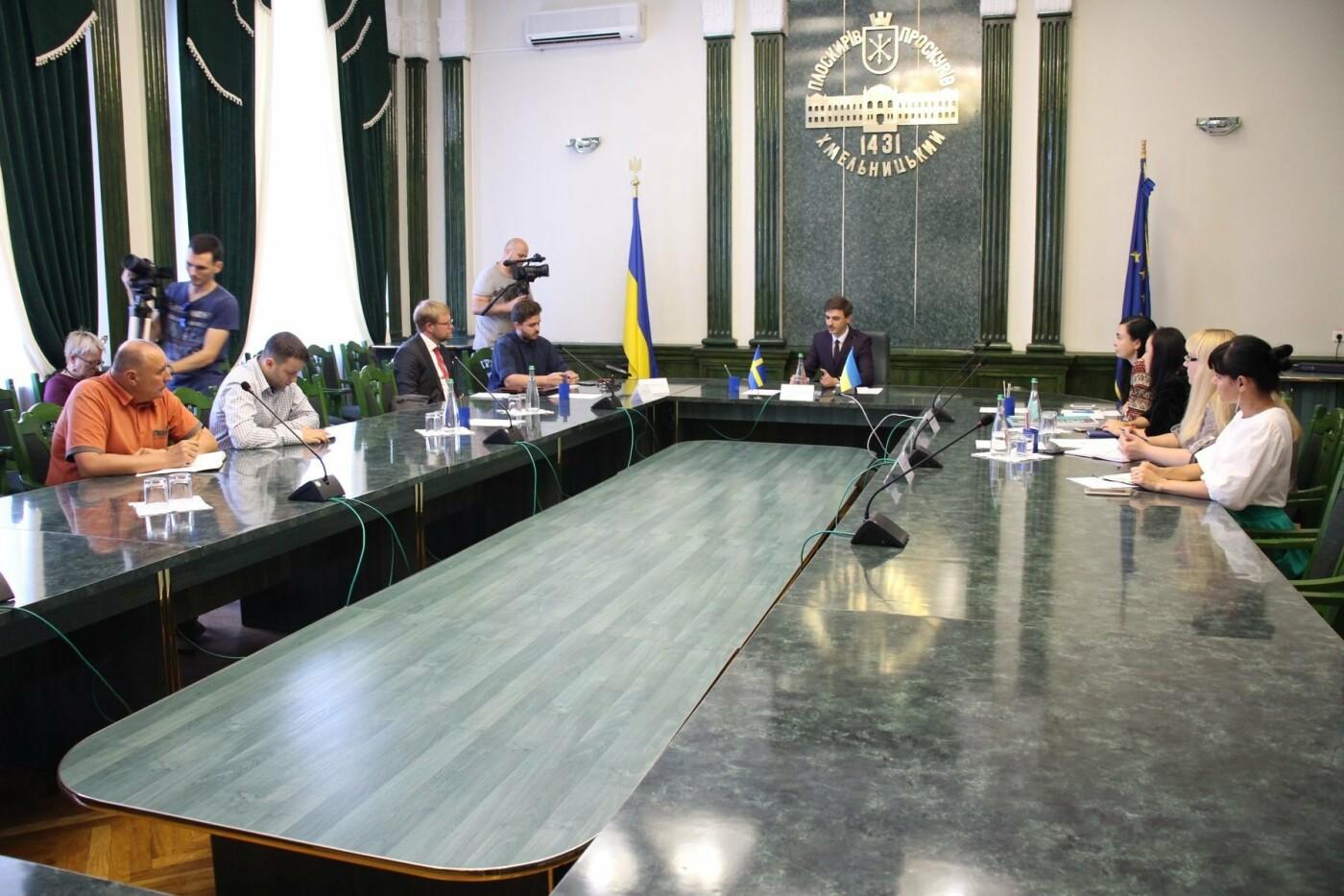 Посол Швеції в Україні вивчає перспективи співпраці з Хмельницьким, фото-5
