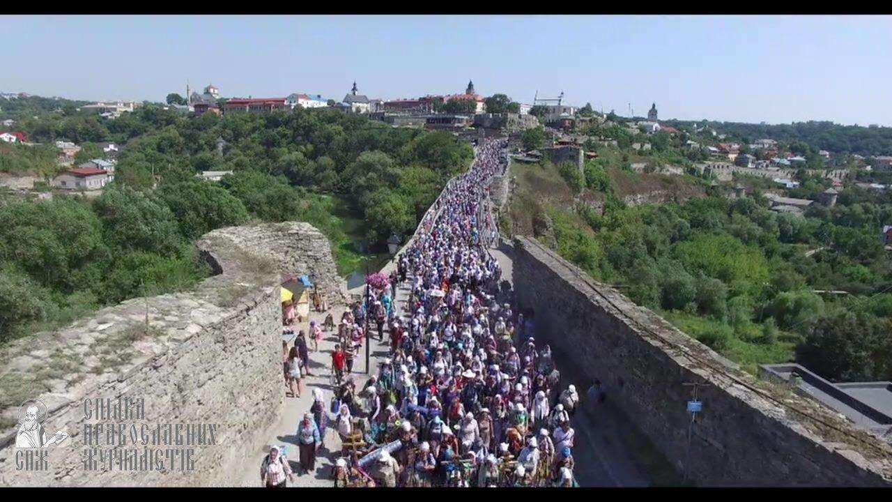 Понад 20 тисяч вірян вийшли на Хресний хід з Кам'янця-Подільського до Почаєва. ВІДЕО, фото-1