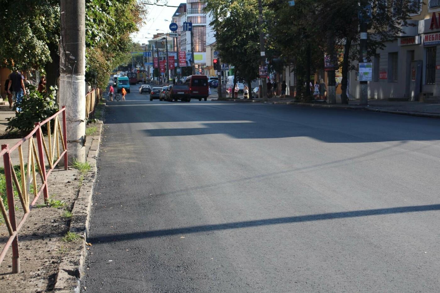 Ремонт ділянок вулиць Кам'янецької та Бандери завершено, тролейбуси працюватимуть у звичному режимі, фото-5