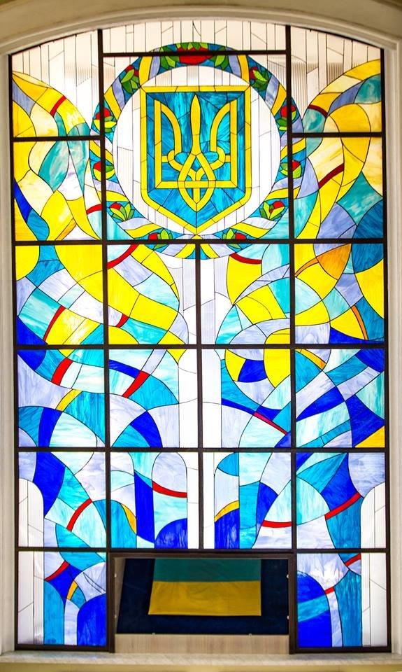 Історичний стяг можна побачити у Хмельницькій міській раді, фото-1
