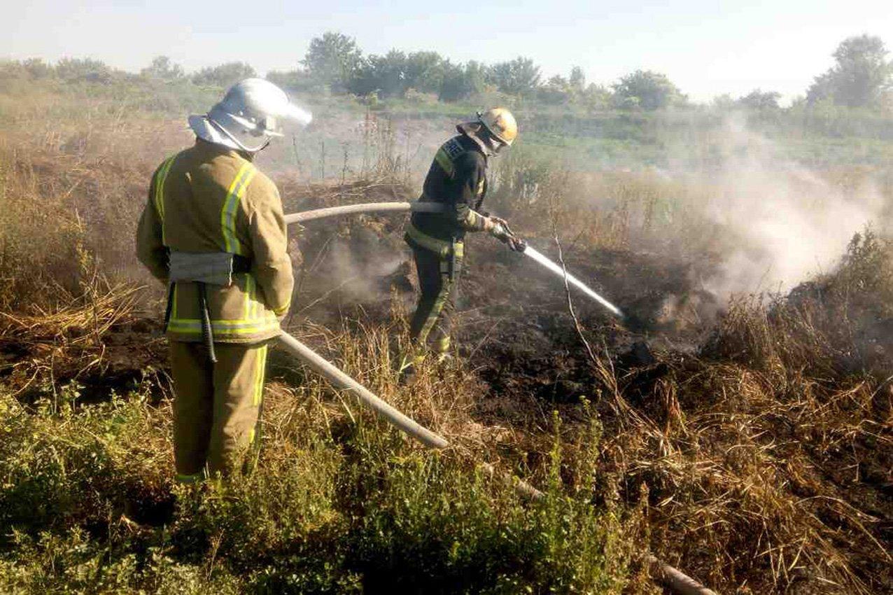 Хмельницька область: рятувальники ліквідували пожежу торфу, фото-4