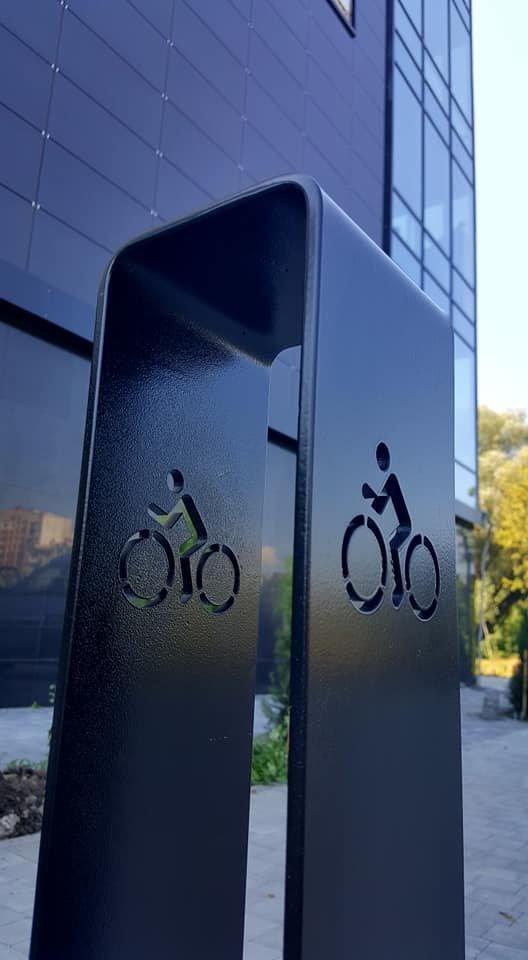 У Хмельницькому з'явилася сучасна велопарковка, фото-3