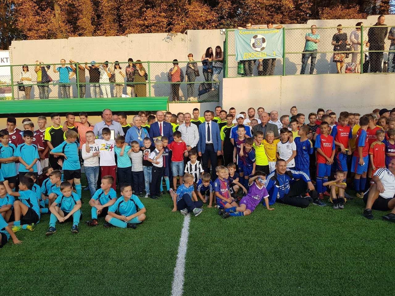 На ювілей хмельницька спортшкола отримала 50 тисяч гривень у подарунок. ВІДЕО, фото-2