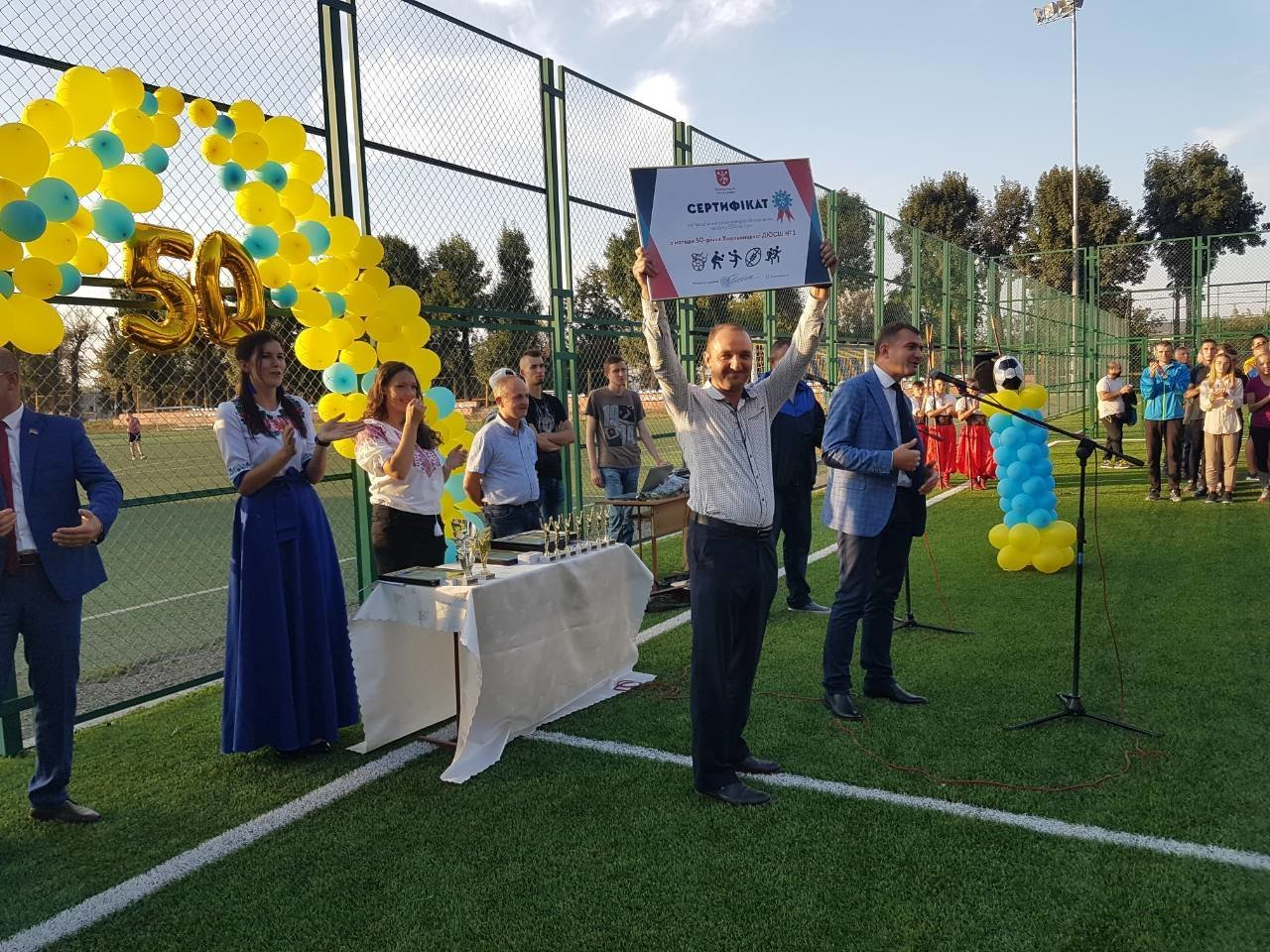 На ювілей хмельницька спортшкола отримала 50 тисяч гривень у подарунок. ВІДЕО, фото-3