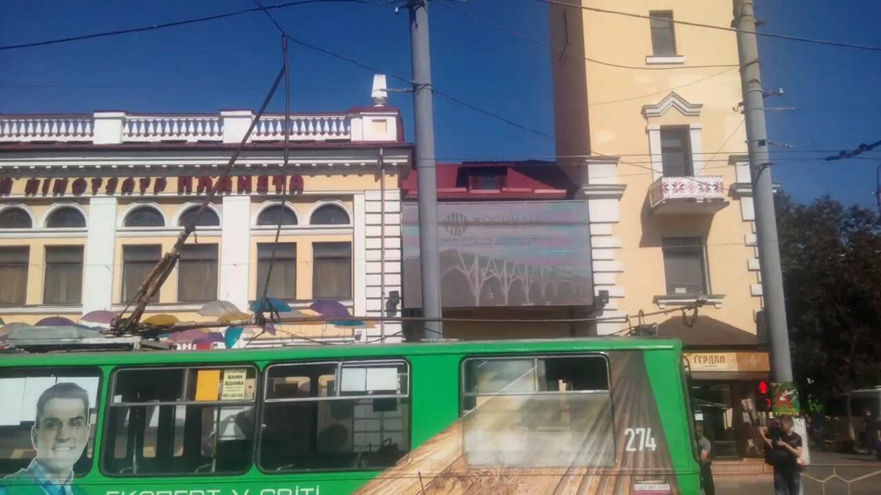 """У хмельницького тролейбуса поламалися """"рога"""". ФОТО.ВІДЕО, фото-2"""