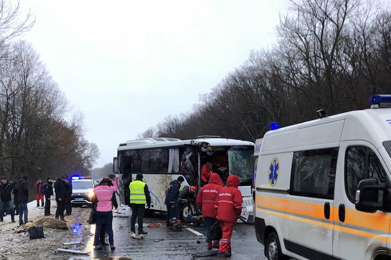 На Хмельниччині сталася жахлива ДТП: Рейсовий автобус в'їхав у вантажівку з худобою. ФОТО. ВІДЕО, фото-2