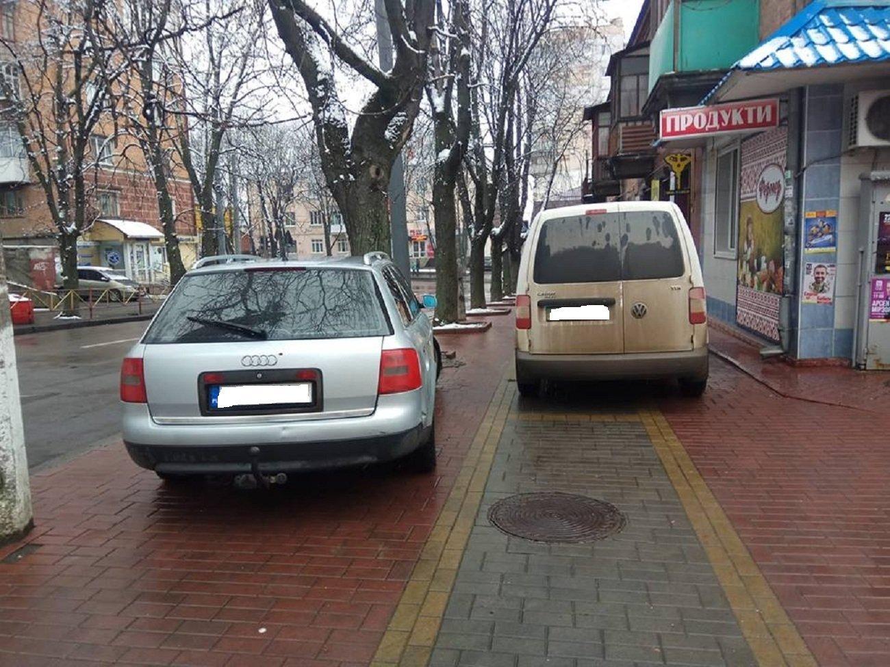 Автохам: хмельничани, що не вміють паркуватись, фото-2