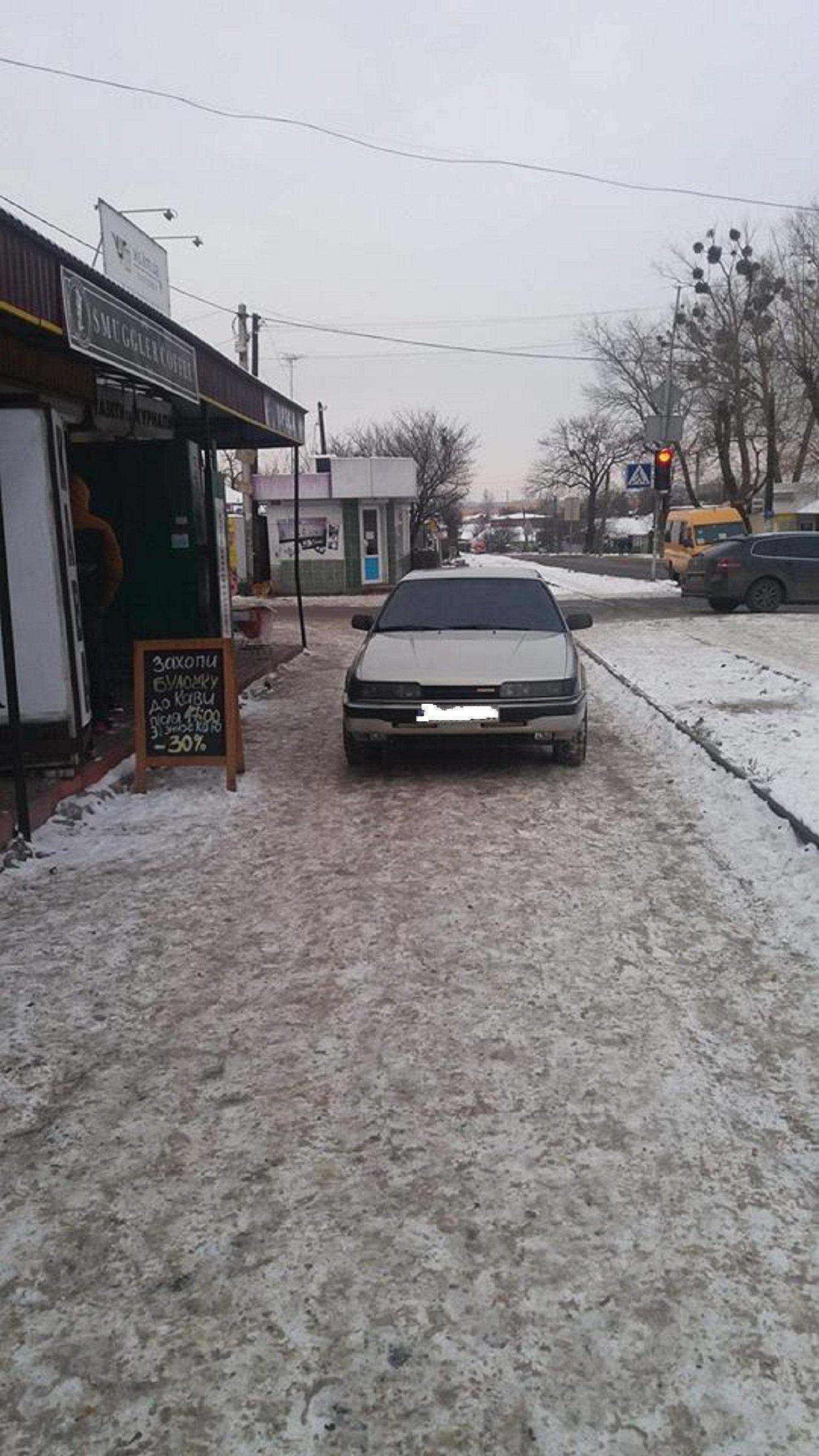 Автохам: хмельничани, що не вміють паркуватись, фото-5
