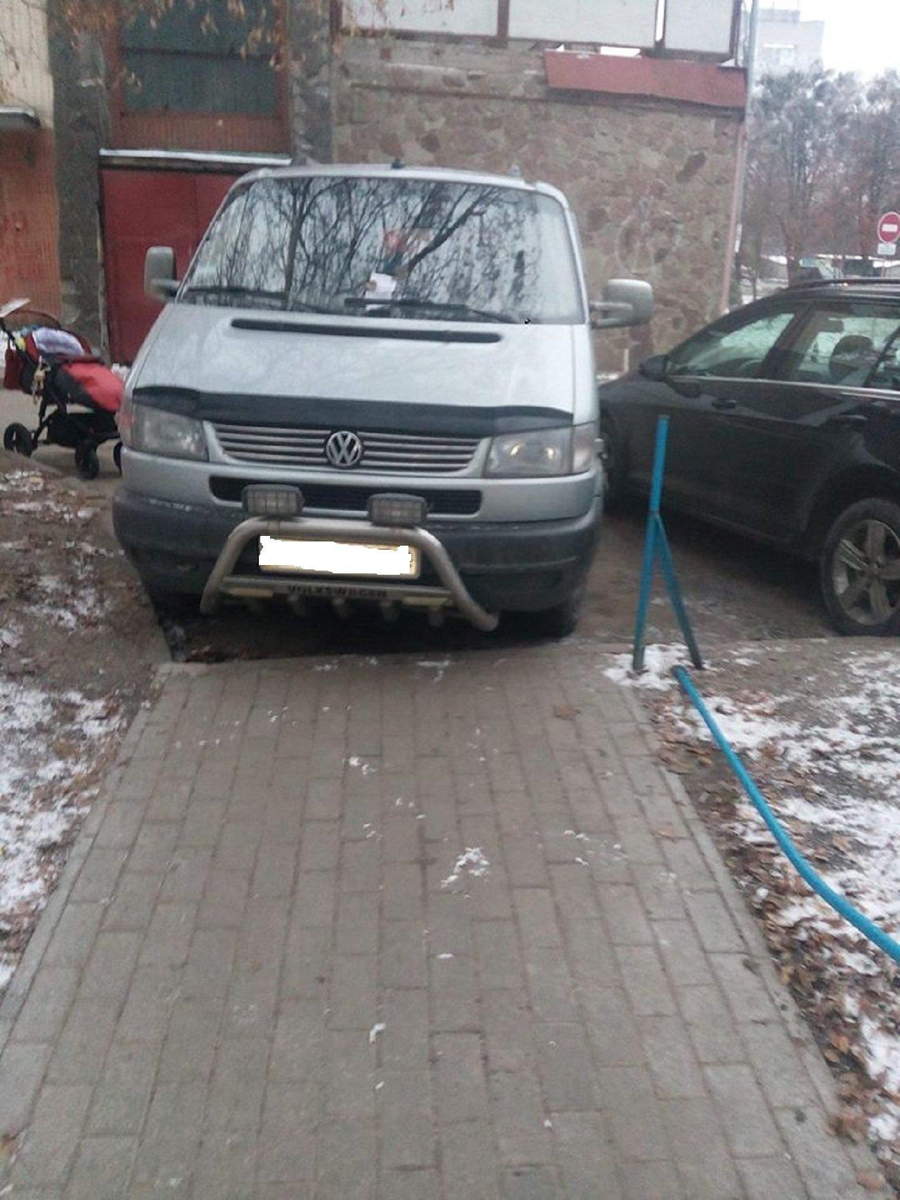 Автохам: хмельничани, що не вміють паркуватись, фото-8