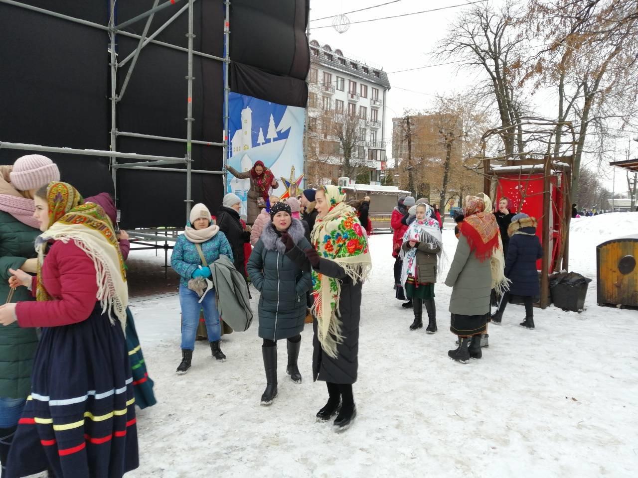 Нова радість стала: Хмельницький приєднався до акції одночасного виконання колядки.ФОТО.ВІДЕО, фото-5
