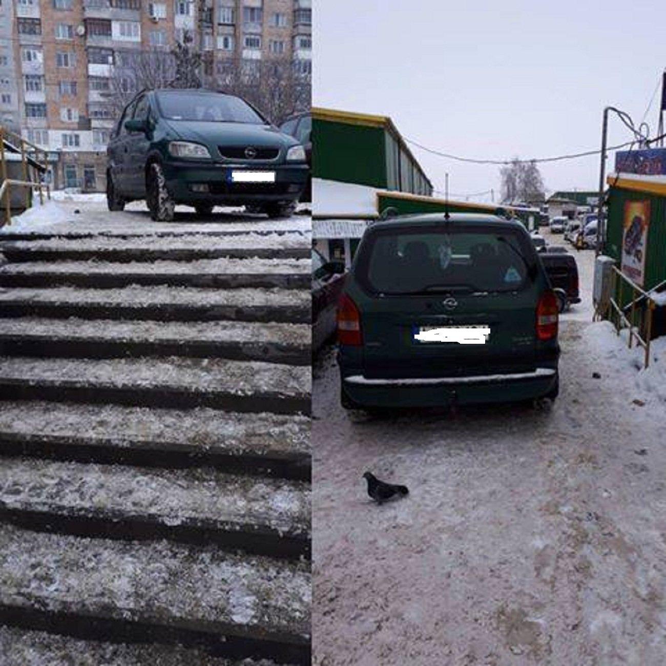 Автохам: підбірка фото хмельничан, що не вміють паркуватись, фото-3