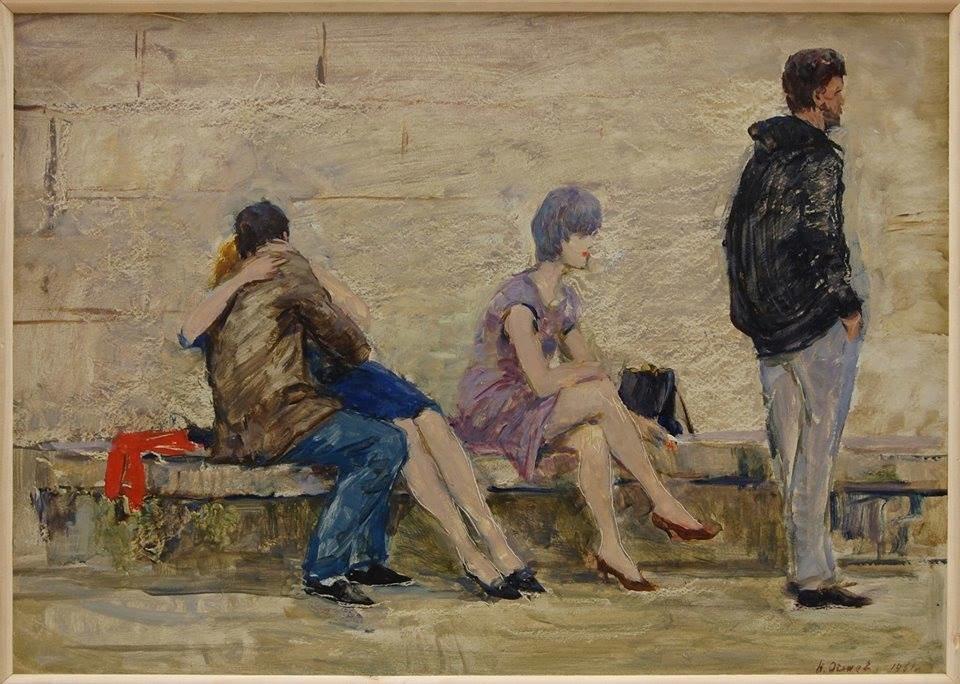 Одна з картин виставки
