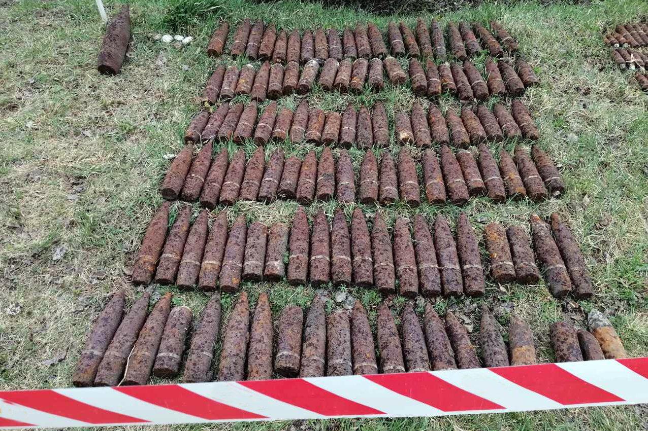 На Хельниччині піротехніки знищили 231 вибухонебезпечний предмет (фото), фото-1