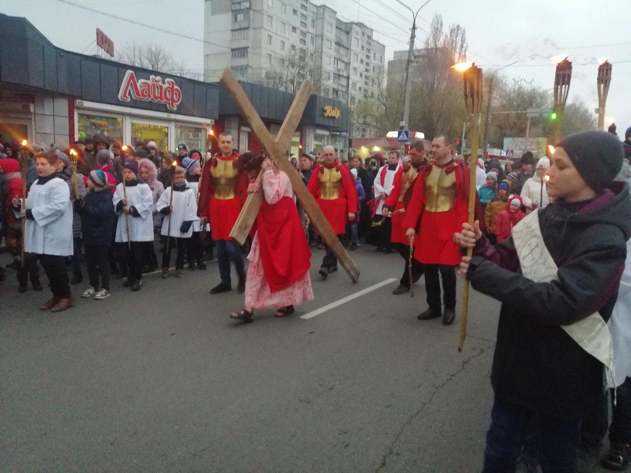 У Хмельницькому пройшла Хресна Дорога (фото, відео) , фото-1