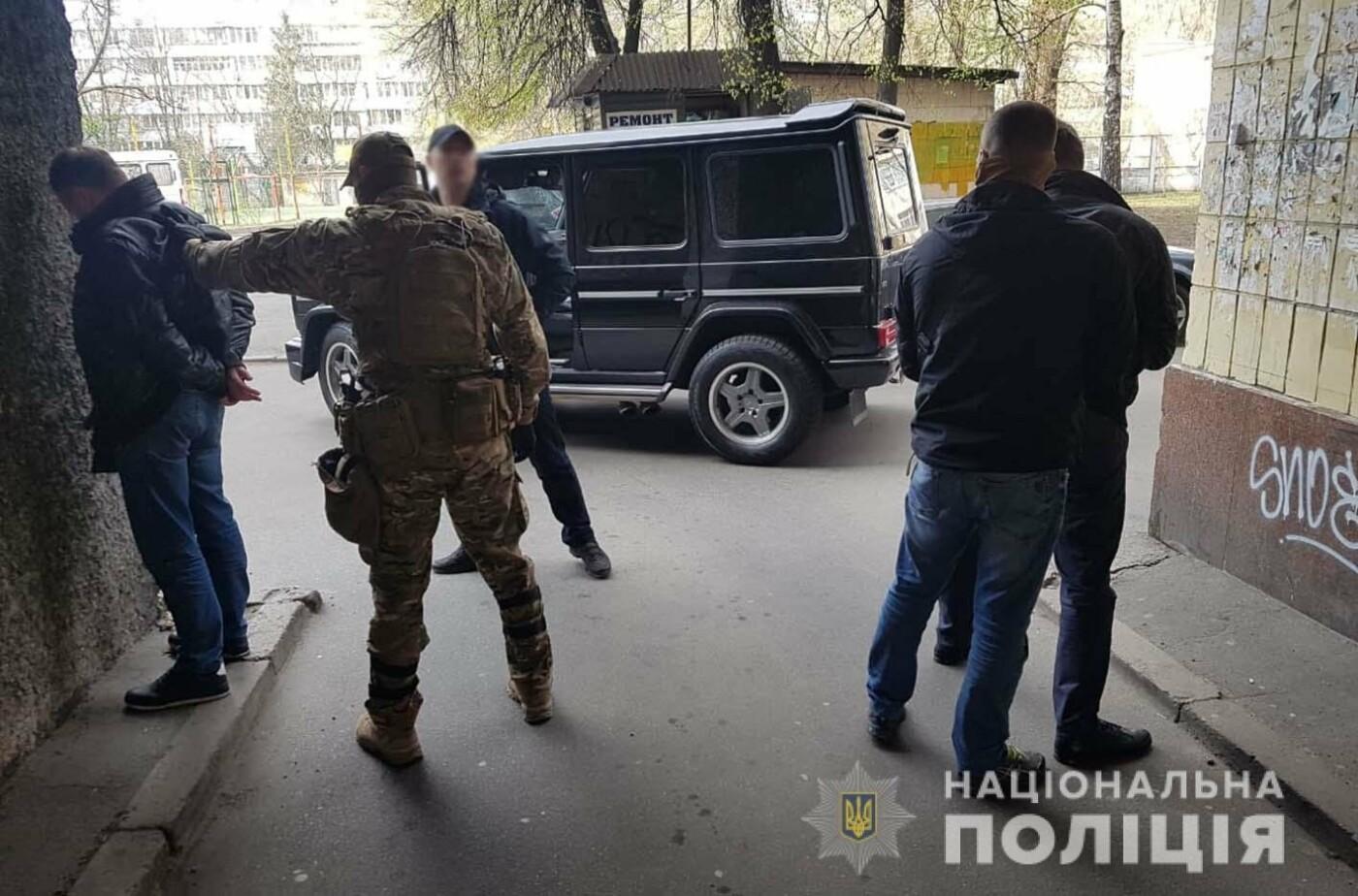 Хмельницькі поліцейські за підозрою у розбійному нападі затримали злочинну групу зі столиці , фото-4