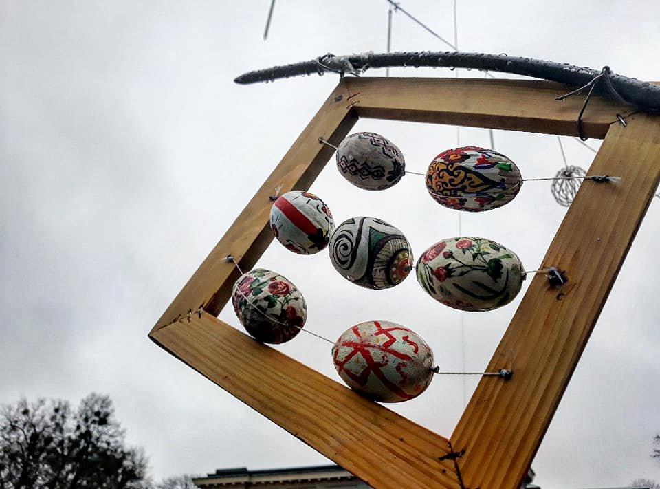 У Хмельницькому встановили велетенські писанки (фото, відео), фото-9