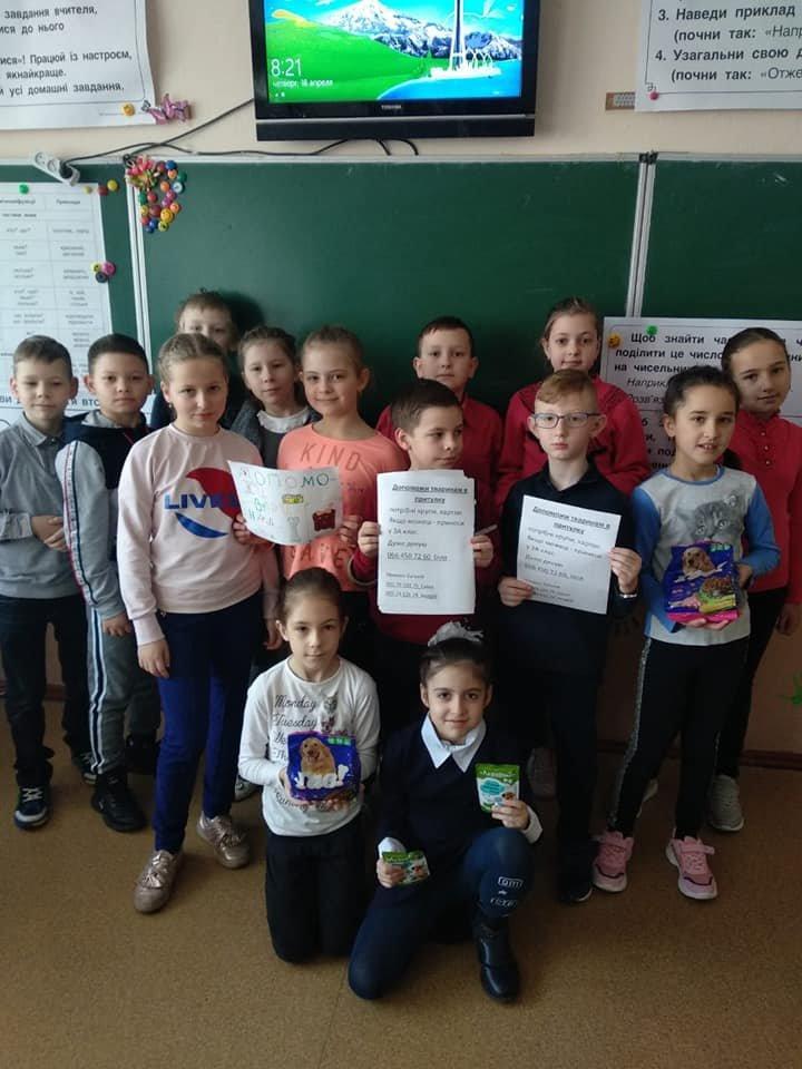 У Хмельницькому учні 3 класу допомагають притулку для тварин, фото-2