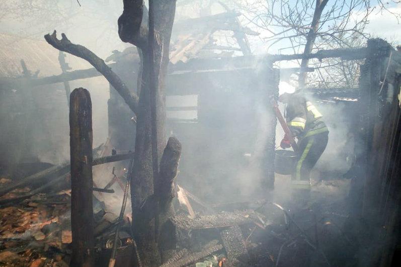 На Хмельниччині через дитячі пустощі згоріла кухня (фото), фото-2