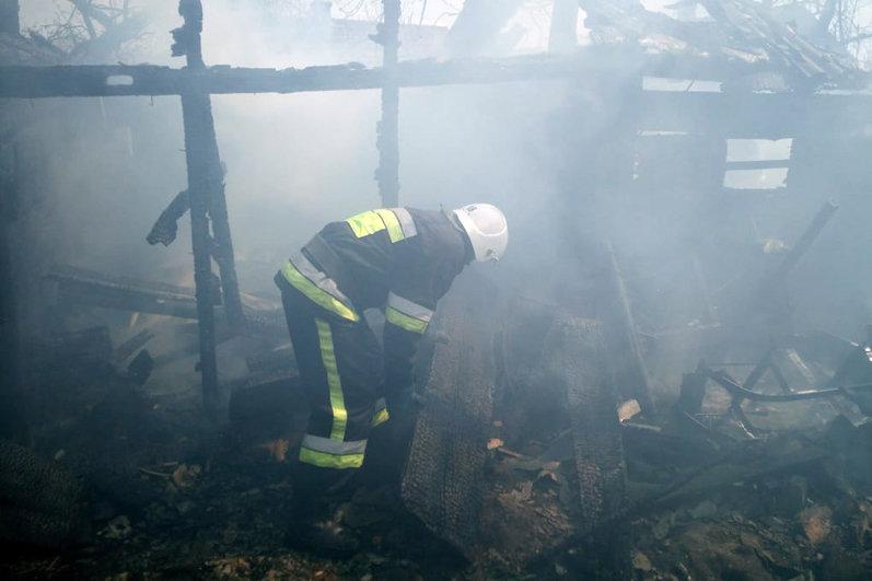 На Хмельниччині через дитячі пустощі згоріла кухня (фото), фото-1