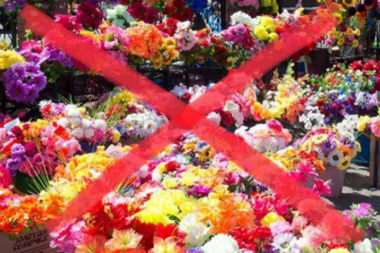Екологи закликають хмельничан не використовувати пластикові квіти і вінки , фото-1