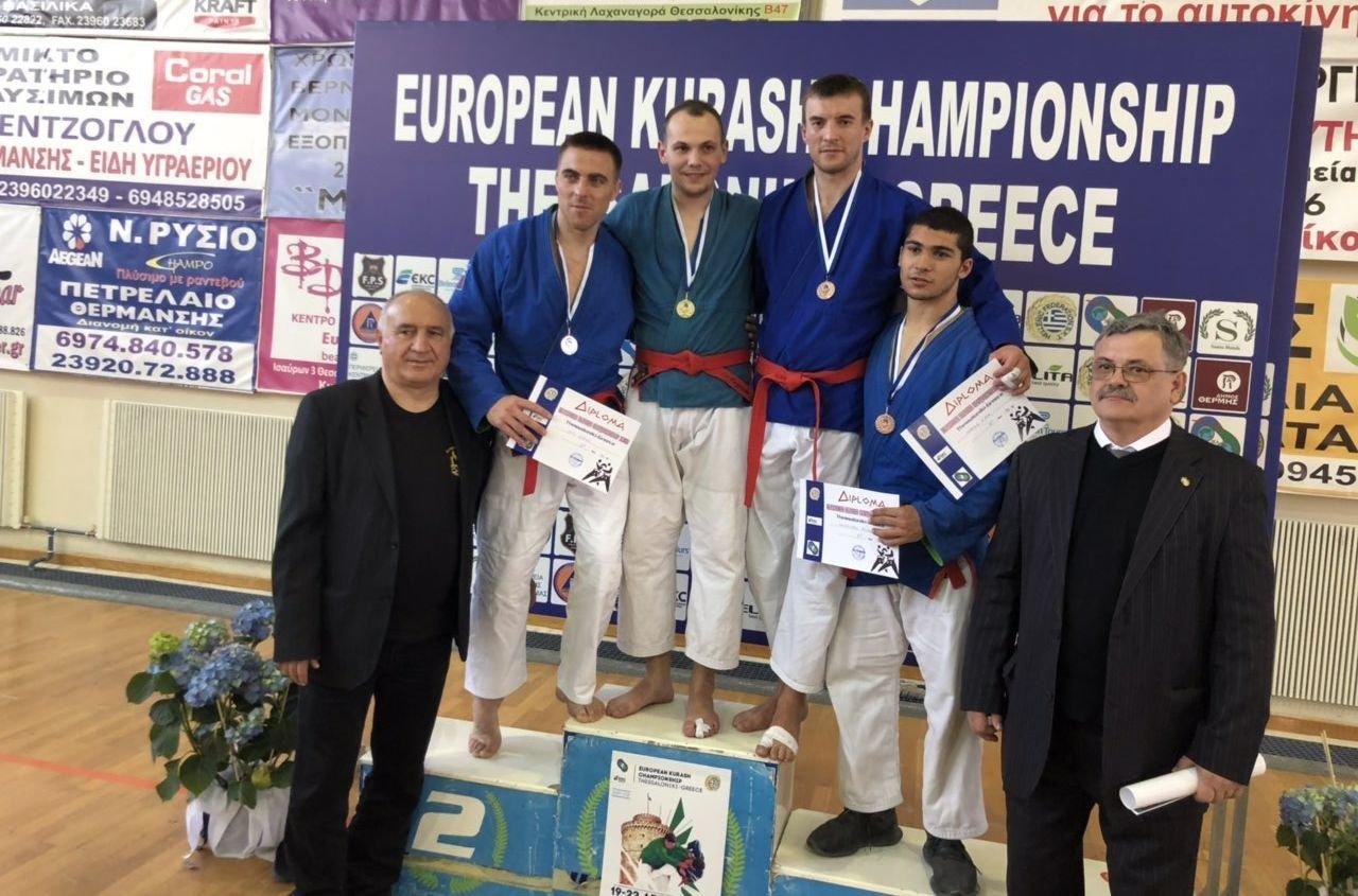 Хмельничани здобули «золото» та «срібло» на Чемпіонаті Європи з боротьби Кураш в Греції, фото-3