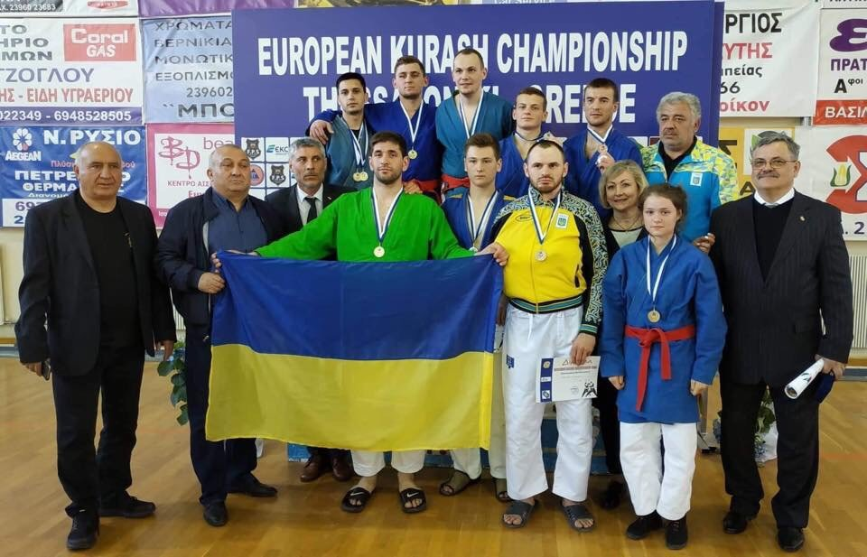 Хмельничани здобули «золото» та «срібло» на Чемпіонаті Європи з боротьби Кураш в Греції, фото-1