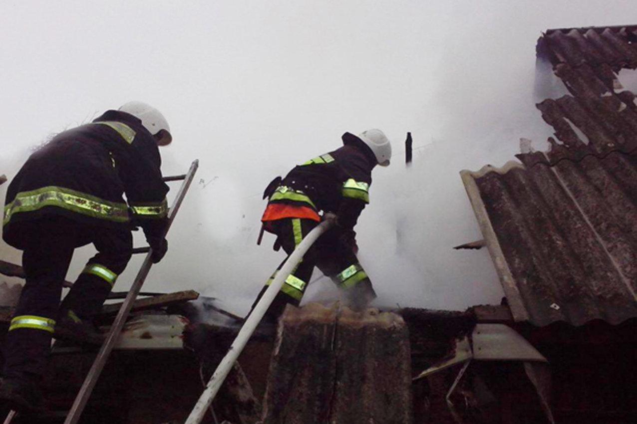 За добу на Хмельниччині рятувальники двічі ліквідували пожежі, фото-1
