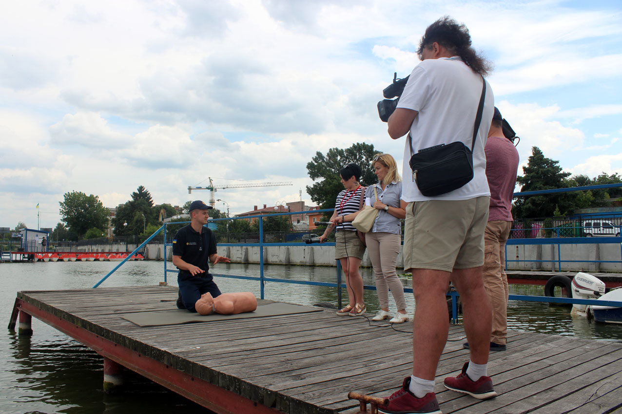 Напередодні свята Купала рятувальники Хмельниччини застерегли громадян від легковажності на воді, фото-3