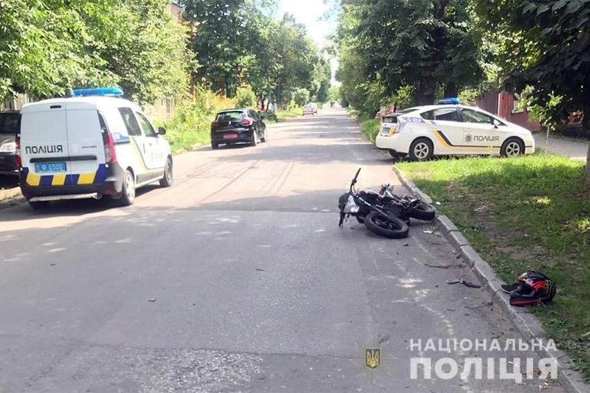 Минулої доби в ДТП на Хмельниччині травмувалися два мотоциклісти  , фото-2