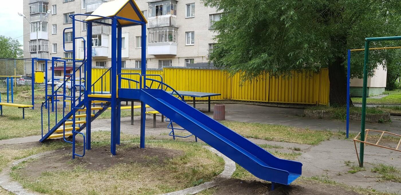 У Хмельницькому продовжують будувати дитячі майданчики (фото), фото-4