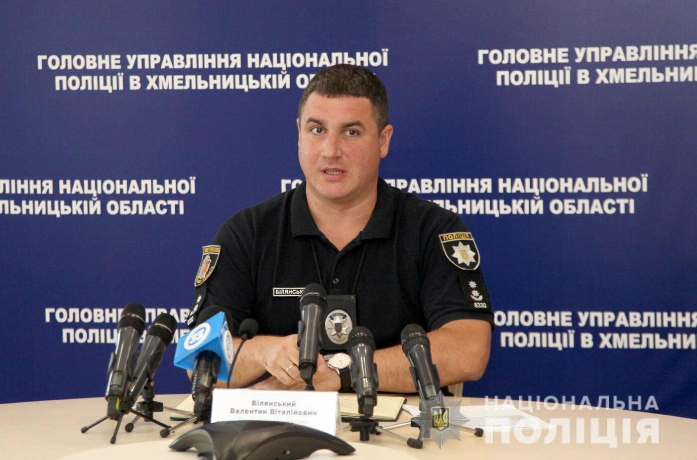 На Хмельниччині під час виборів буде задіяно 2200 працівників поліції — Валентин Білянський, фото-2