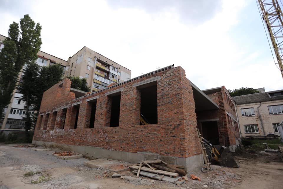 У Хмельницькому будують новий корпус ліцею №17 (фото), фото-1