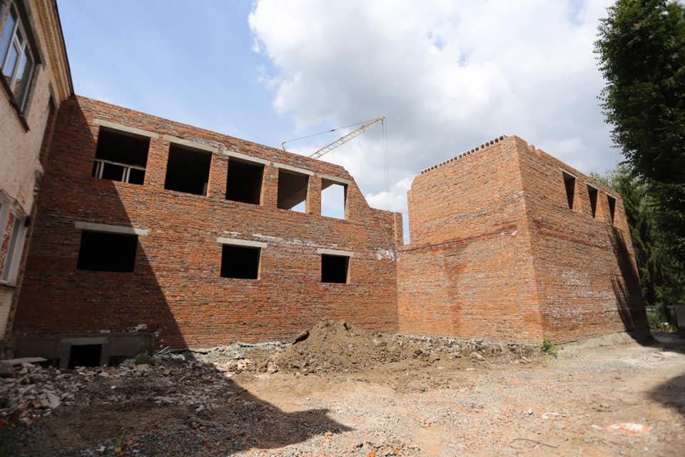 У Хмельницькому будують новий корпус ліцею №17 (фото), фото-2