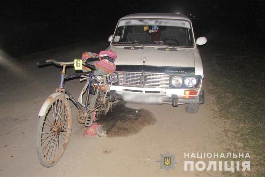 На Хмельниччині водій у стані алкогольного сп'яніння на смерть збив велосипедиста , фото-1