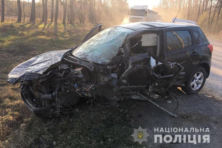На Хмельниччині сталася ДТП за участю трьох автомобілів (фото), фото-1
